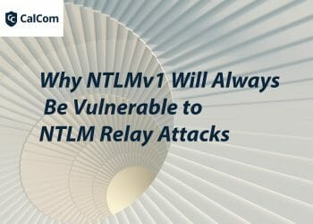 Why NTLMv1 will always be vulnerable to NTLM Relay attacks