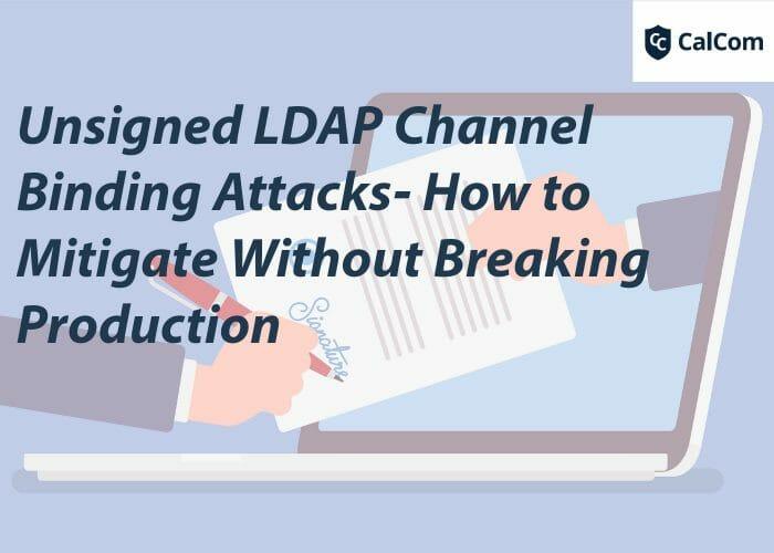 unsigned ldap channel binding